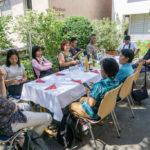Mittagessen im Café Regenbogen