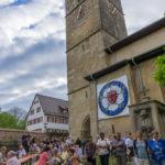 Serenade an der Kirche in Neckartailfingen