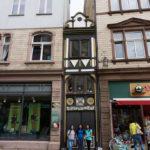 """Das """"Schmale Haus"""" in Eisenach"""